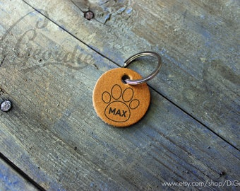pet id tag for dog name tag custom pet tag pet id tag leather pet tag mom dog id tag personalized dog tag engraved pet tag dog collar tag