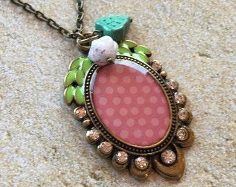 Girls Jewelry, Girls Pendant, Childreb's Jewelry, Necklace Pendant,  Pendant