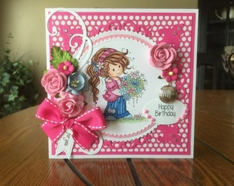Happy Birthday Handmade Greeting Card