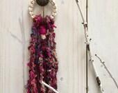 Macrame Sari Silk Door Decoration, Sari Silk Macrame Door Hanger, Boho Macrame Door Hanger, Macrame Door Decor, Macrame Door Decoration