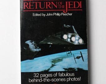 Star Wars The Making of Return of the Jedi Paperback 1983