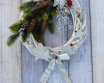 Christmas Wreath, Christmas Wreaths, Holiday Wreath, Front Door Wreath, Winter Wreath
