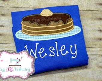 Pancake Shirt, Pancake Birthday Shirt, Birthday Shirt, Boy Pancake Shirt, Custom Pancake Shirt