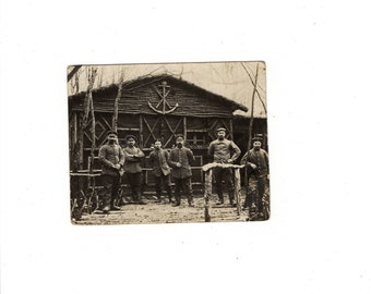 antique military photo