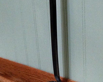 Enamelware Ladle - White and Black - Heavy Duty - Vintage Kitchenware - Dipper - Camping - Farm House - Cottage Country Decor