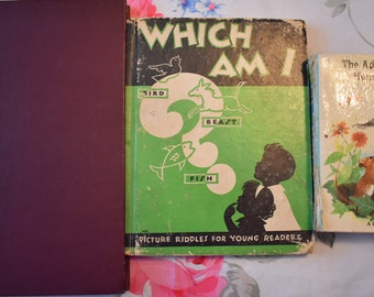 Vintage Children's Books (Three Books) (Free Shipping!)