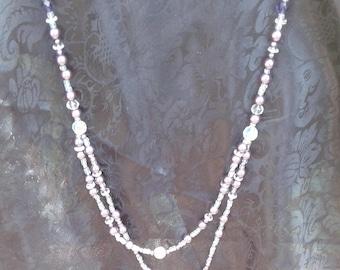 Florescent Purp Opera w/Bracelet