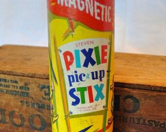 Vintage Steven Magnetic Pixie Pic-Up Stix Game Set
