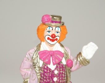 "1997 ""Hey There"" Ron Lee Clown Figurine 