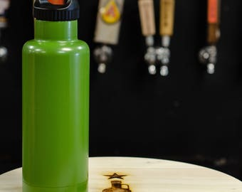 Green Beer Growler Stainless Steel 32 oz