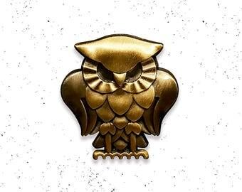 Bohemian Owl Lapel Pin
