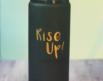 Hamilton Decal// Rise Up Vinyl // Notebook Sticker// Mug Decal