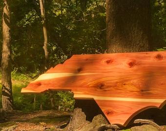 Handmade North Carolina Aromatic Cedar Wall Mount