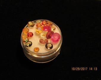Fall Fiesta of Color -  Loose Gemstones