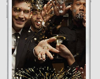 Snapchat New Years its Lit , New Year Eve 2018, Geofilter, New years snapchat, snapchat new years, New years filter, New Years eve Snapchat