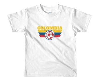Colombia Kids World Cup Shirt Boys Girls