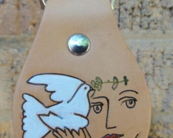 Key Fob with Picasso Drawing Replica