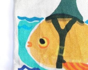 Goldfish Art Fabric Catnip Toy
