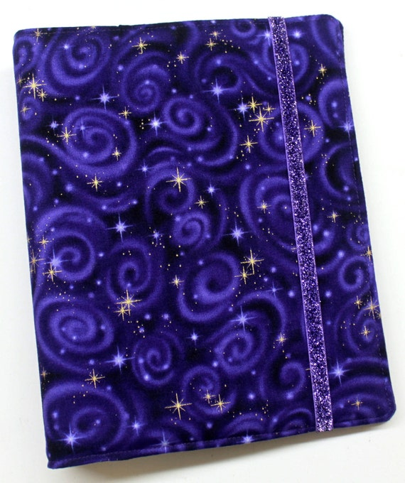 Purple Stargazer WIP Tracker Cover and Binder