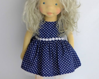 "RESERVED  Waldorf doll  19""    GAYLE   , art doll"
