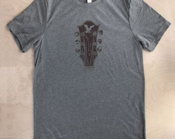 Jerry Garcia Guitar Tshirt (LIGHT GRAY)