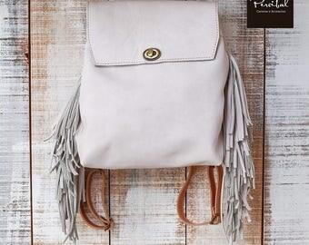 Leather backpack, shoulder backpack, convertible leather backpack, medium size backpack, 3 in 1 backpack, crossbody backpack bag