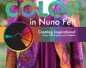 Artful Color In Nuno Felt, How to Nuno Felt, Color Inspiration, Nuno Felting tutorial, Nuno felting instructions, felting instruction