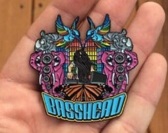 Bassnectar Basshead Heady Hat Pin