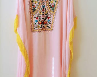 kaftan beach dresses long kaftan dress maxi dresses Embroidered kaftan caftan dress long white maxi dress in multiple colors