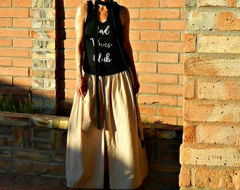 Womens Tanks-Womens Tank Tops-Tanks-Clothing-Womens Clothing-Tops-Tees-V Neck Scoop Bottom Fit-Mommy LaDy Club Mama Sass Collection