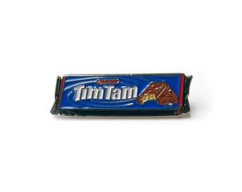 DOUBLE CHOC TIMTAMS Enamel Pin Australian