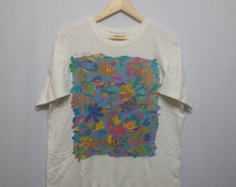 Vintage Ken done Reef Garden T-Shirt Size S on tag..