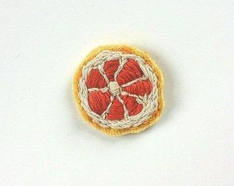 Blood Orange Pin