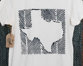 Texas Outlined tee