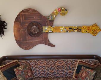 Wall Art Guitar