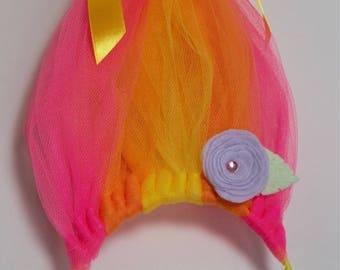 Troll Hair Headband, Trolls Party Headband, Troll Costume, Troll Birthday, Trolls Party,  Sunrise Trolls, Troll Hat, Troll Hair