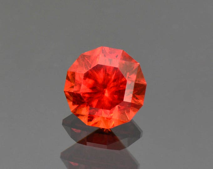 UPRISING SALE! Superb Red Rhodochrosite Gemstone Precision Faceted from South Africa 5.03 cts.