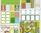Avacado Collection // Planner Stickers
