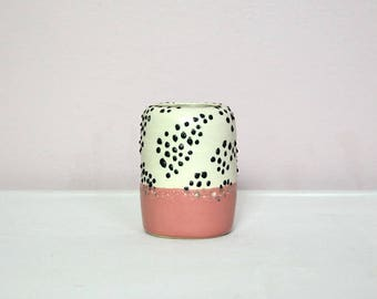 Pink Polkadot Pot