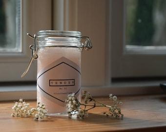 Candle | Tender | Scented Candle | Duftkerze | Rose | Rosy | Handmade | blunthandmade | Pink | Jar | Gift Idea
