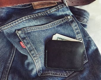 NEW! Jo Wallet. LEATHER Wallet. Leather Card Case. Credit Card Case. Card Holder. Leather Business Card Holder