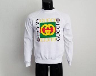 Vintage Gucci Crewneck Sweatshirt Sz.