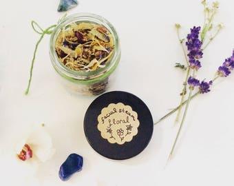 Facial Steam - Herbal Tea Bath - Herbal Infusion - Invirgorating - Elixir