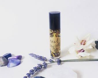 Heal Thyself Chakra Healing - Essential Oils - Artisan Aromatherapy - Chakra Balancing