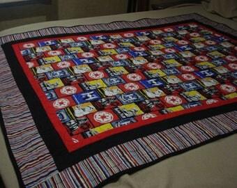 Star Wars Quilt/throw/blanket