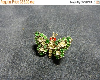 Summer Sale Vintage Sterling Silver Butterfly Pin