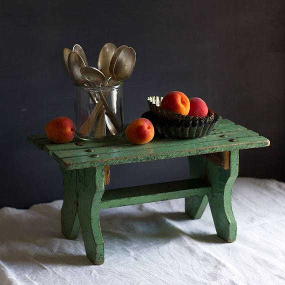 French Garden Green Bench