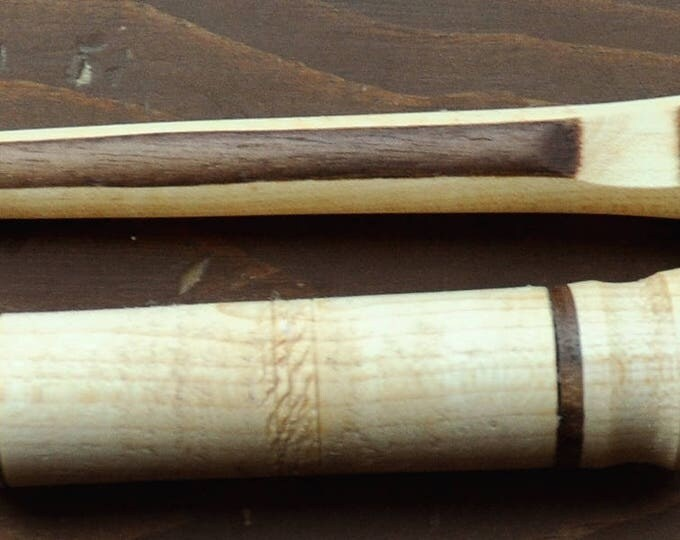 Beautiful Mix wood stitch lay tool & needle case set
