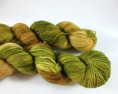 Woodland Folk, QCC Yarn, Avon Sock Yarn, Fingering Weight Yarn, Merino Wool, Green Yarn