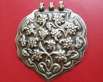 Indian german silver pendant